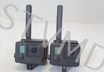 2x used GoPro HEROCast HD wireless transmitter and 1x used VisLink Receiver