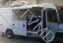 Used HD OB SNG Mercedes Vario 818 CDI in top condition