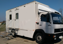 used HD OB Truck Mercedes 1520 in very good condition
