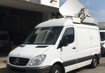 Used HD SNG Mercedes Sprinter 316 CDI with top level broadcasting equipment in top condition