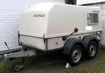 Used 21.5kW/27KVA Mobile Power Generator