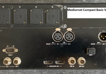 up to 6x Riedel Mediornet Compact Frames in different versions